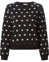 Moschino Cheap & Chic Pebble Print Sweatshirt - Lyst
