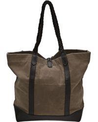 Tk Garment Supply - Braided Handle Tote - Lyst
