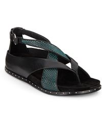 L.A.M.B. Bellatrix Leather Sandals - Lyst