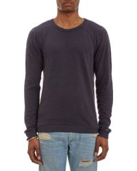 Rag & Bone Long Sleeve Raglan Tee - Lyst