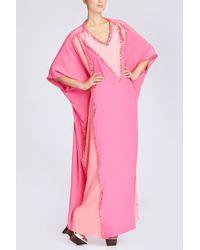 Natori Couture Mariposa Caftan - Lyst
