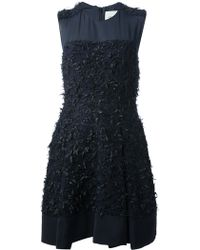 3.1 Phillip Lim Tweed Embellished Dress - Lyst