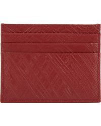 Maison Martin Margiela Textured Leather Credit Card Holder - Lyst