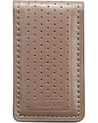 Tumi Bowery Magnetic Money Clip - Lyst