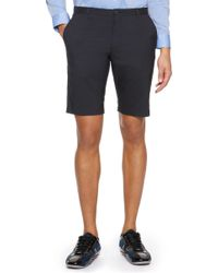 Hugo Hano  Slim Fit Stretch Cotton Blend Shorts - Lyst