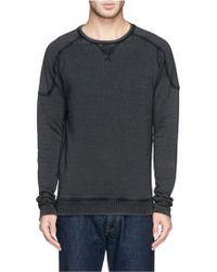 Denham   'Carver' Cotton Sweatshirt   Lyst
