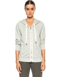 Nsf Clothing Roxie Cotton Hoodie - Lyst