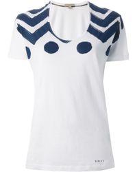 Burberry Brit Graphic Print T-Shirt - Lyst