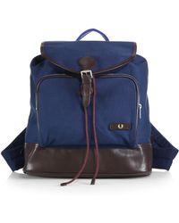 Fred Perry Classic Canvas Rucksack - Lyst