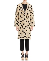 Thakoon Addition - Shaggy Coat - Lyst