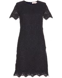 Tory Burch Trixy Crochet Dress - Lyst