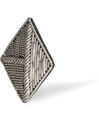 Alice Made This Hamilton Silver Lapel Pin - Lyst
