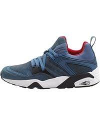 Puma Select Trinomic Blaze Tech Leather Sneakers - Lyst