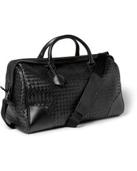 Bottega Veneta Intrecciato Leather Holdall Bag - Lyst