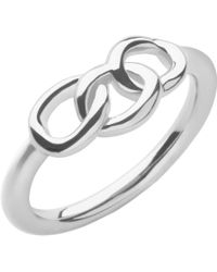 Links of London - Sterling Silver Signature Mini Ring - Lyst