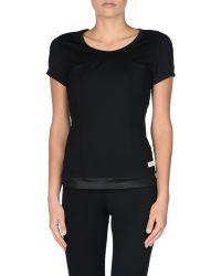 Adidas By Stella McCartney | Black Performance T-shirt | Lyst