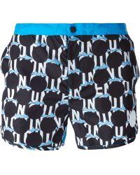 Kenzo 'Dots & Logo' Swim Shorts - Lyst