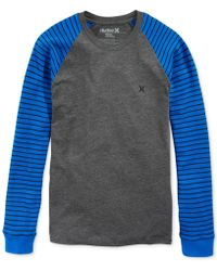 Hurley Norris Colorblocked Thermal Shirt - Lyst