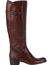 Sesto Meucci For Jildor 81207F Riding Boot Tiziano Rust Leather - Lyst