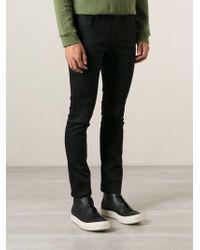 Raf Simons Skinny Fit Jeans - Lyst