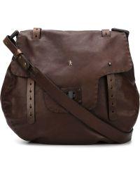 64b8b3e4cd Henry Beguelin - Foldover Top Shoulder Bag - Lyst