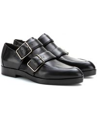 Alexander Wang Jacquetta Monkstrap Leather Loafers - Lyst