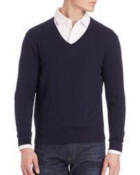 Polo Ralph Lauren - V-neck Sweater - Lyst