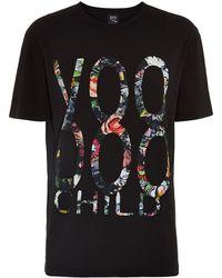 McQ by Alexander McQueen Floral Voodoo Child T-Shirt - Lyst