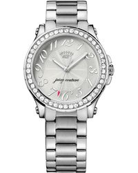 Juicy Couture Women'S Pedigree Stainless Steel Bracelet Watch 38Mm 1901231 - Lyst