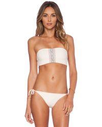 L*space Savanna Byrdie Bikini Top - Lyst