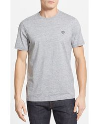 Fred Perry Slim Fit Crewneck T-Shirt - Lyst