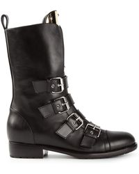 Giuseppe Zanotti Buckle Fastening Boots - Lyst