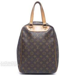 Louis Vuitton Pre-owned Monogram Canvas Excursion Shoe Bag - Lyst