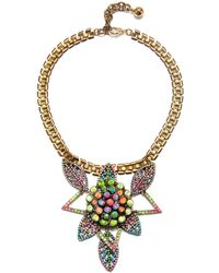 Lulu Frost Gold Chroma Necklace - Lyst