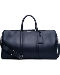 Michael Kors Warren Large Leather Duffel - Lyst