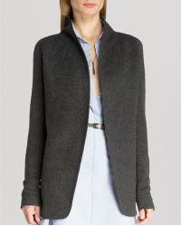 Halston Heritage Jacket - Knit Merino Wool - Lyst