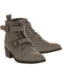 Office Domino Strap Ankle Boot - Lyst
