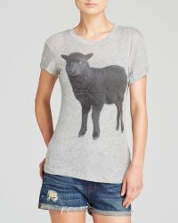 Wildfox Tee Black Sheep - Lyst