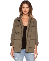 Anine Bing Oversized Army Jacket - Lyst