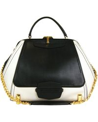 Zac Zac Posen Daphne Leather Colorblock Shoulder Bag - Lyst