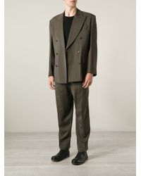Jean Paul Gaultier Double-breasted Pinstripe Suit - Lyst