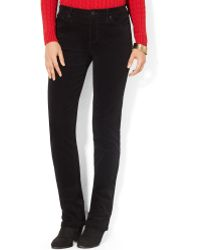 Lauren by Ralph Lauren Lauren Jeans Co Skinny Corduroy Pants - Lyst
