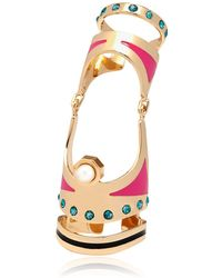 Maria Francesca Pepe Graffiti Collection Articulated Ring - Lyst