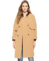 HATCH The Trench Coat - Kahki - Lyst