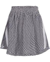 Cecilie Copenhagen - Keffiyeh Cotton Skirt - Lyst