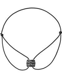 Georg Jensen - Fusion 18ct White Gold Black Diamond Bracelet - Lyst
