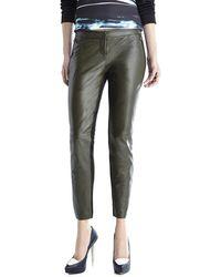 Sachin & Babi Leather Front Pants - Lyst