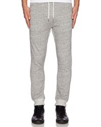 Diesel Gray Ascal Sweatpant - Lyst