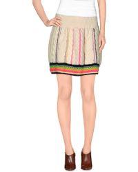 Katie Jones - Mini Skirt - Lyst