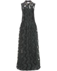 Erdem Geeta Woolblend Dress - Lyst